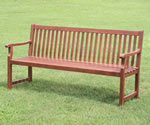 FSC Acacia Duffield 3 Seater Garden Bench