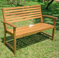 Hardwood Boston 2 Seater Garden Bench