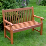 Hardwood Duffield 2 Seater Garden Bench