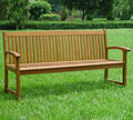 Hardwood Kingston 3 Seater Garden Bench