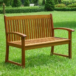 Hardwood Kingston 2 Seater Garden Bench