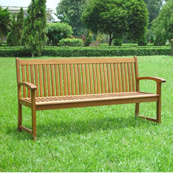FSC Acacia Kingston 3 Seater Garden Bench