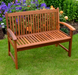 Image of FSC Acacia Kingston 2 Seater Garden Bench