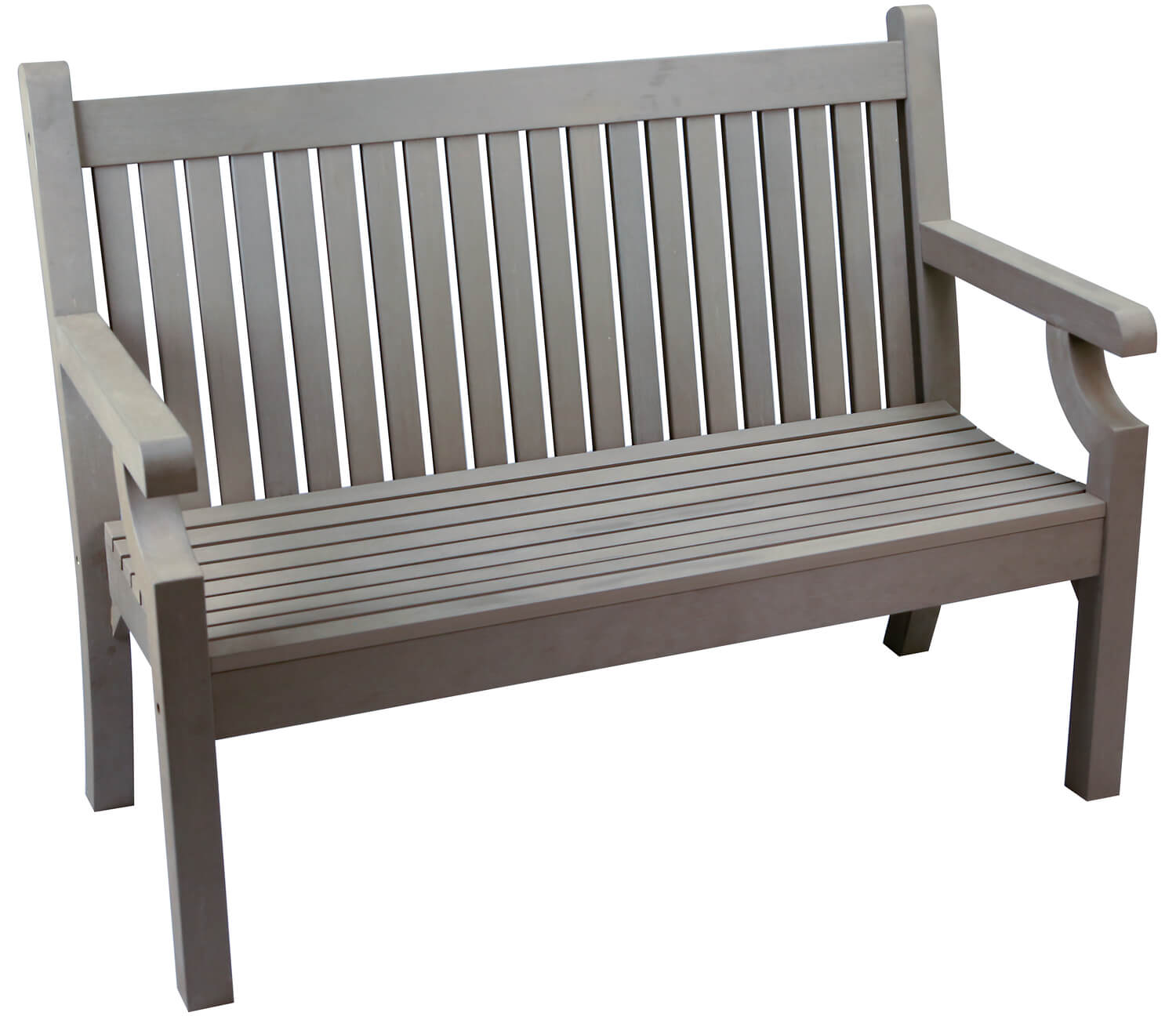 Hokku Designs Revionna Two Seat Bench With Storage: Sandwick Winawood 2 Seater Wood Effect Garden Bench