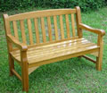 Oak 4 Seater Garden Bench