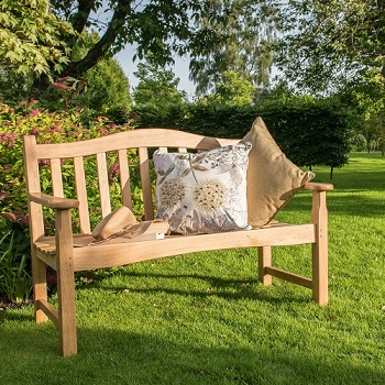 Image of Regal Oak 4ft Bench - 2 seater