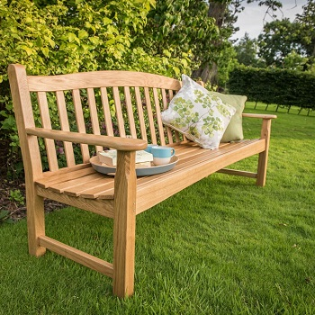 Extra image of Regal Oak 6ft Bench - 4 seater