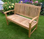 Regal Oak 2 Seater Garden Bench