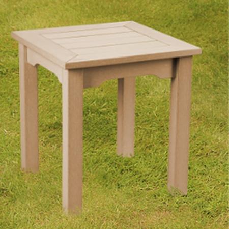 Winawood Wood Effect Side Table Teak, Wooden Side Table For Garden