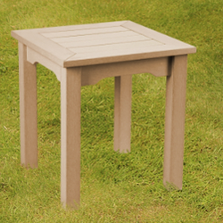 Small Image of Winawood Wood Effect Side Table - Teak Finish