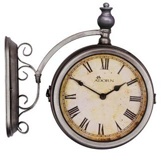garden nation bentley station clock garden4less. Black Bedroom Furniture Sets. Home Design Ideas