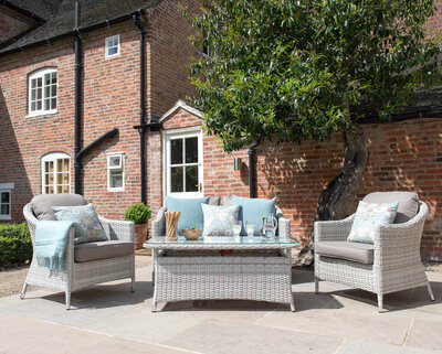 Extra image of Cotswold Rattan Weave Lounge Furniture and Table Set