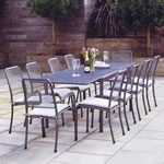 Portofino 10 Seater Garden Furniture Set by Alexander Rose