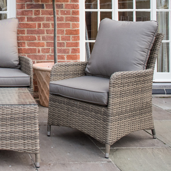 Extra image of Norfolk Leisure Handpicked Belize 4 Seater Lounge Set in Cappuccino