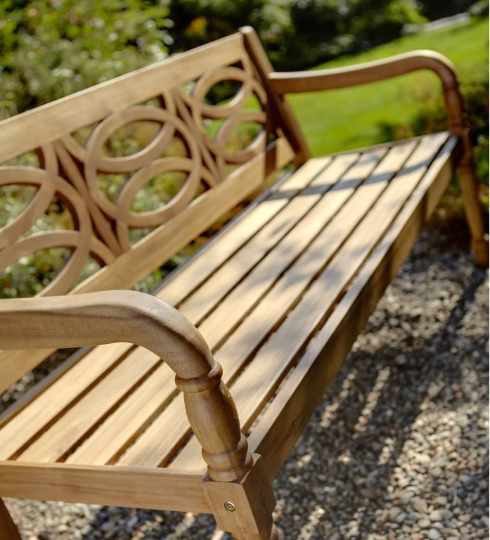 Extra image of Cleobury 3 Seater FSC Garden Bench from Hartman - COLLECTION ONLY
