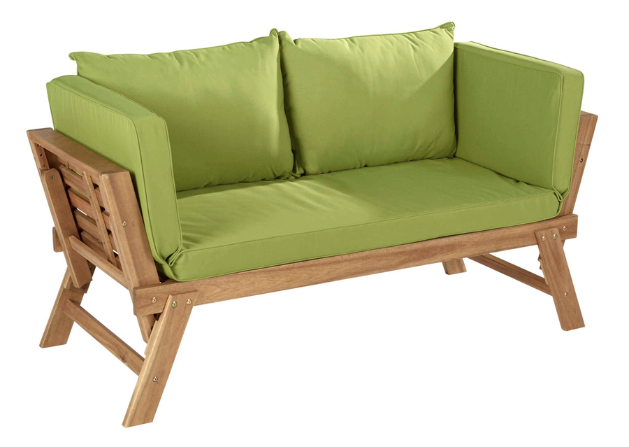 Hartman lena hardwood lounge bench 275 garden4less uk for Gardening 4 less reviews