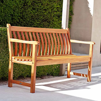 Image of Cornis Broadfield 5ft FSC Garden Bench from Alexander Rose