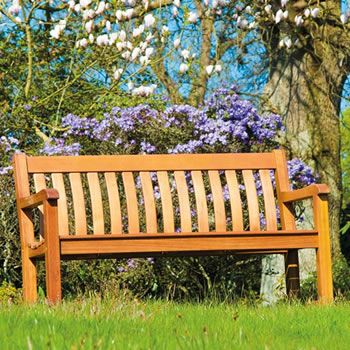 Image of Cornis St George 5ft FSC Garden Bench from Alexander Rose