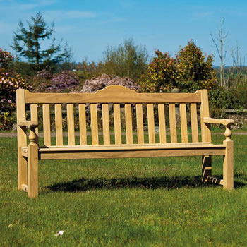 Image of Roble Rose 5ft FSC Garden Bench from Alexander Rose