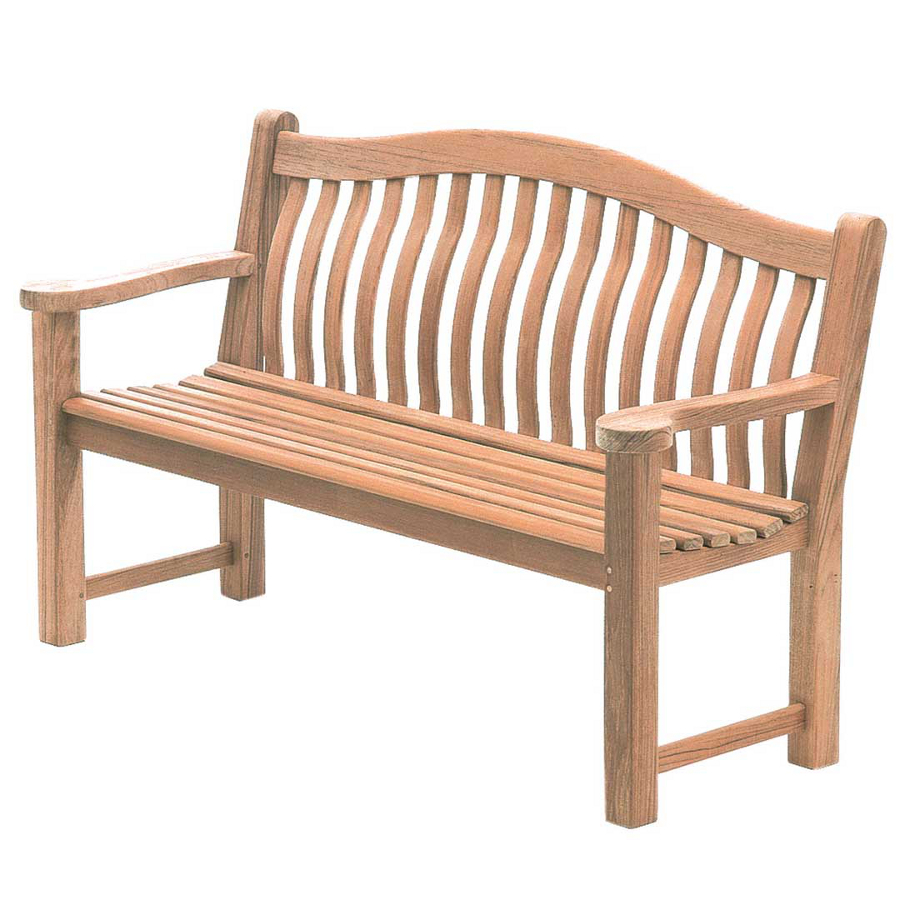 Extra image of Mahogany Turnberry 5ft FSC Garden Bench from Alexander Rose