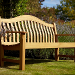 Norbury 3 Seater Hardwood Garden Bench from Hartman