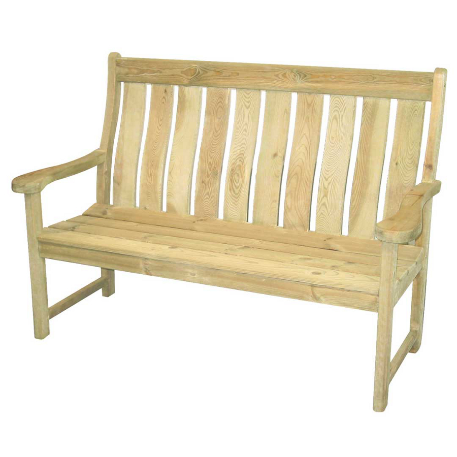 Extra image of Pine Farmers 5ft FSC Garden Bench from Alexander Rose
