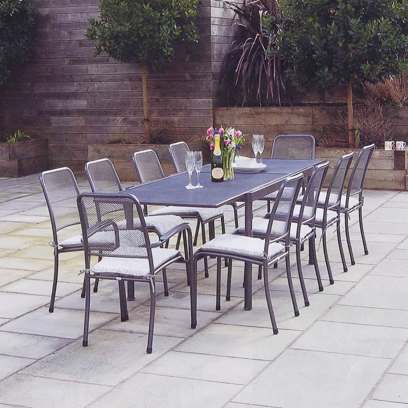 Extra image of Portofino 10 Seater Garden Furniture Set by Alexander Rose