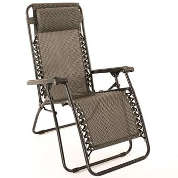 Image of Trinity Relaxer Reclining Garden Chair / Recliner