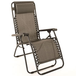 Small Image of Trinity Relaxer Reclining Garden Chair / Recliner