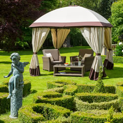 Small Image of Denver 3x3m Square Garden Gazebo from Garden Must Haves