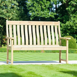 Small Image of Pine Farmers 5ft FSC Garden Bench from Alexander Rose