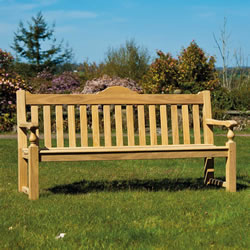 Small Image of Roble Rose 5ft FSC Garden Bench from Alexander Rose
