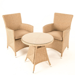 Small Image of Serenity Tea for Two Bistro Furniture Set