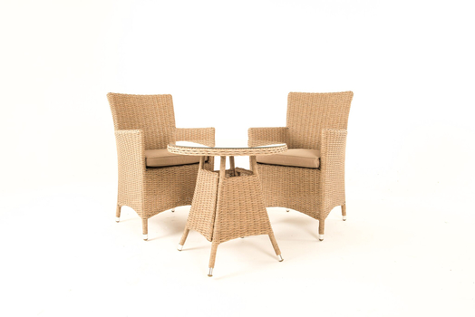 Extra image of Serenity Tea for Two Bistro Furniture Set