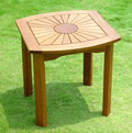 Sunrise Hardwood Side/End Table