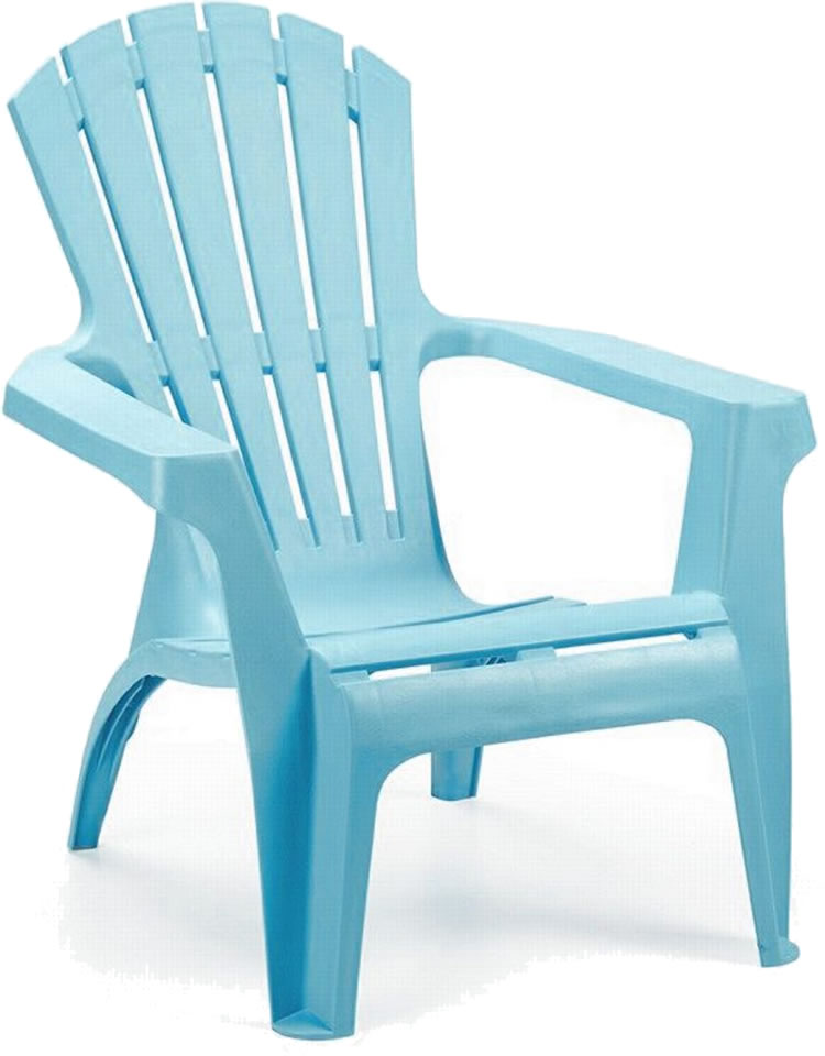 Turquoise Garden Lounge Chair £25