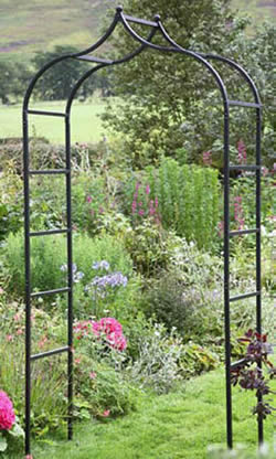 Baroque garden arch garden4less uk shop for Gardening 4 less reviews