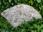 Small Image of Brighten Your Path Stone Garden Plaque