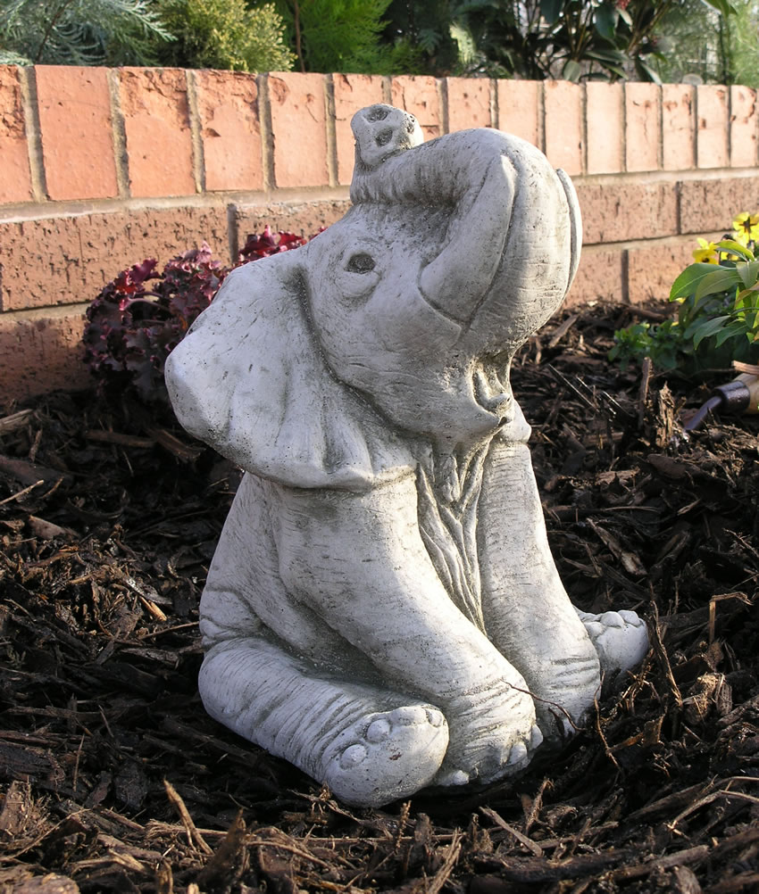 Ellie The Elephant Garden Ornament Statue 163 23 99