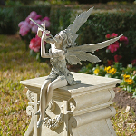 Small Image of Fairy of the West Wind Garden Ornament
