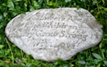 Small Image of Flowers Like Children Stone Garden Plaque