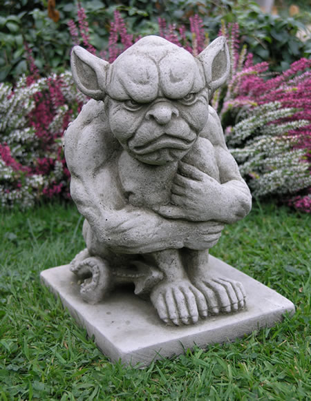 Image Of Gargoyle Garden Ornament