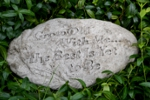 Small Image of Grow Old Stone Garden Plaque