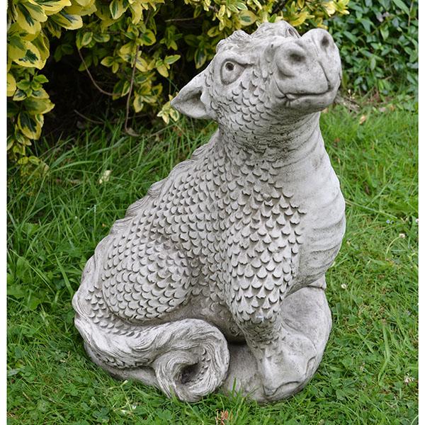 Head Up Dragon Garden Ornament - DN12 - £62.99 ... on Backyard Ornaments id=23982
