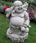 Jolly Buddha Garden Ornament