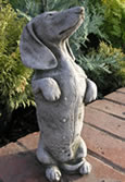Kippy The Dog Garden Ornament Statue