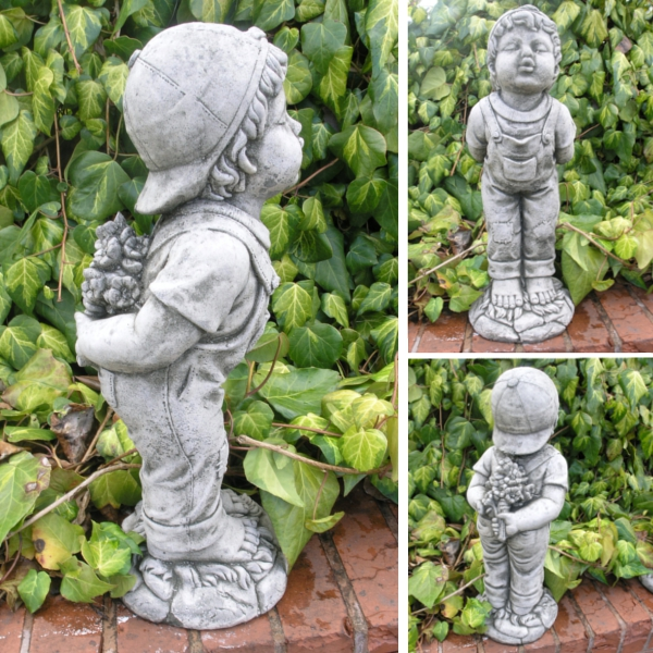 Delicieux Small Image Of Kissing Boy Garden Ornament   BG13