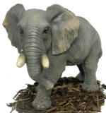 Image of Large Elephant - Resin Garden Ornament