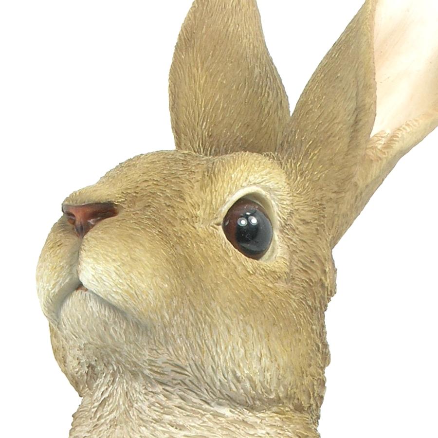 Lookout Rabbit - Resin Garden Ornament - £19.99 ... on Backyard Ornaments id=99788