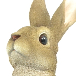 Extra image of Lookout Rabbit - Resin Garden Ornament